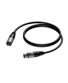 Procab CLA901 câble XLR mâle - XLR femelle 0,5m